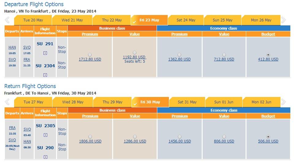 Vé máy bay đi Frankfurt giá rẻ