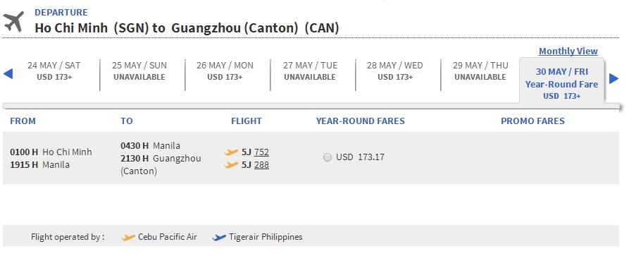 Mua vé máy bay đi Quảng Châu