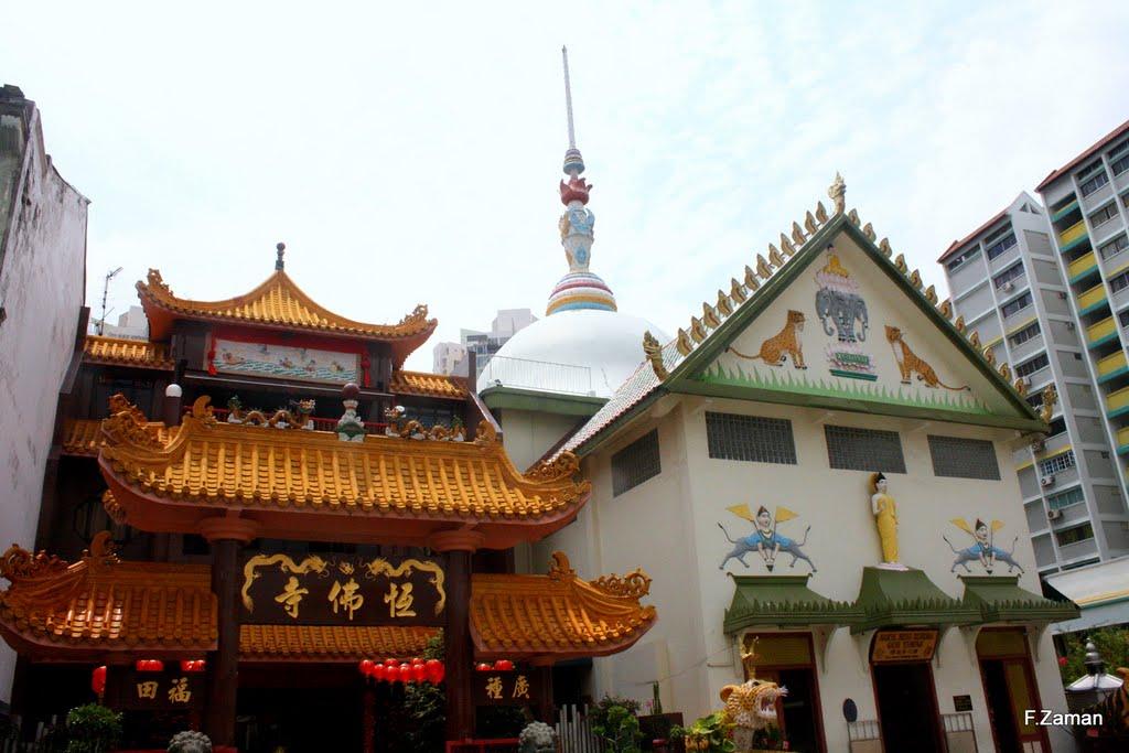 Những ngôi chùa linh thiêng ở Singapore