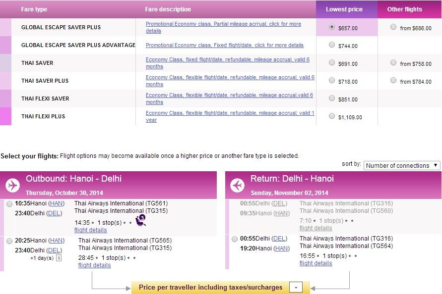 Vé máy bay đi Delhi giá rẻ