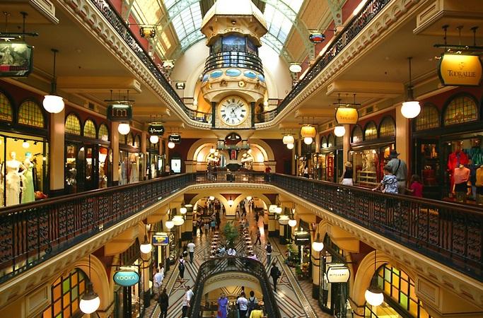 Vi vu mua sắm ở nước Úc