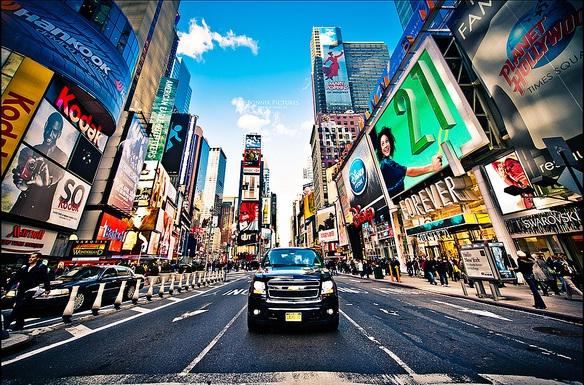 Sức hút từ thành phố New York hiện đại