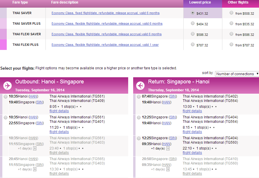 Vé máy bay đi Singapore giá rẻ nhất