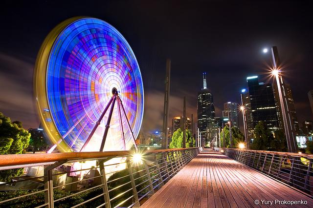 Giant Sky Wheel, Melbourne, Australia