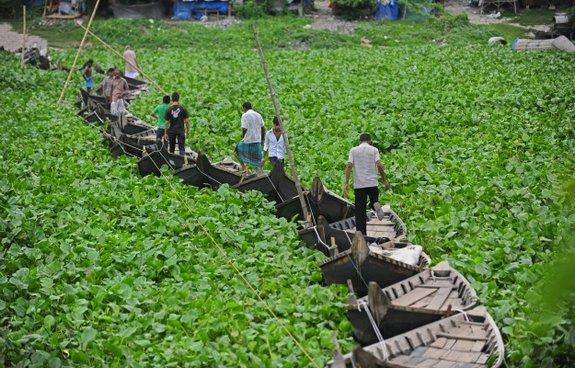 Dhaka với cầu thuyền nổi độc đáo