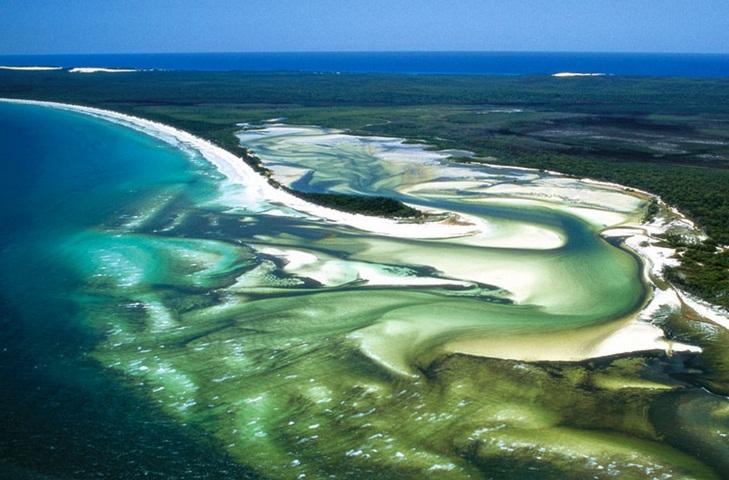 Fraser - đảo cát đẹp nhất nước Úc
