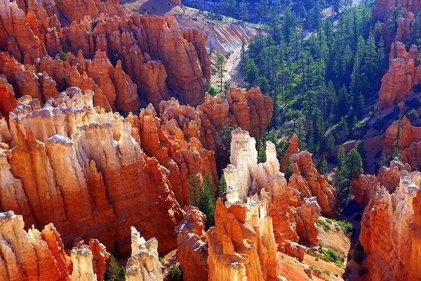 Rừng đá ngoạn mục ở công viên Bryce Canyon