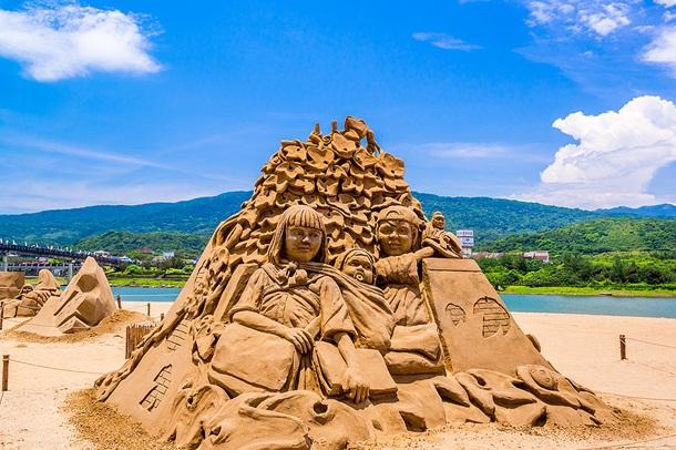 Fulong - bãi biển xinh đẹp của Đài Loan