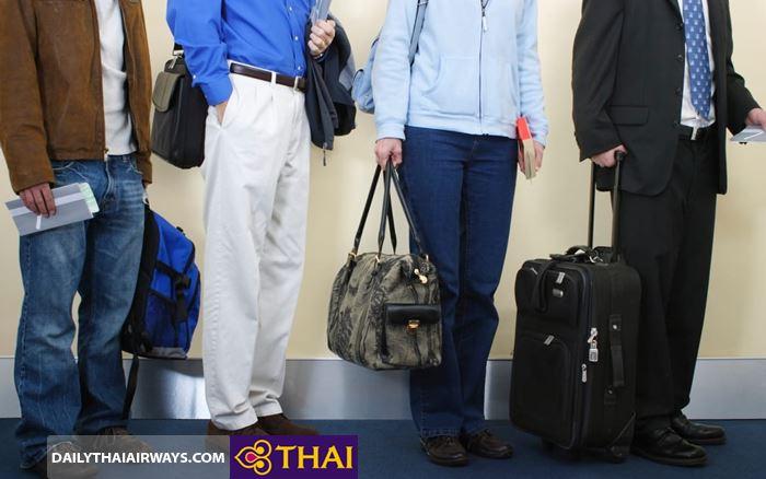 Quy định hành lý xách tay Thai Airways