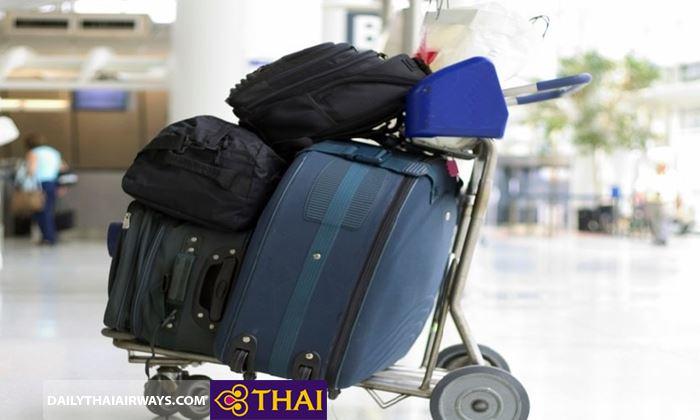 Phí hành lý quá cân Thai Airways tính theo từng vùng