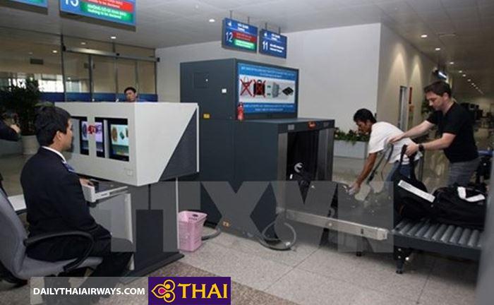 Kiểm tra hành lý Thai Airways