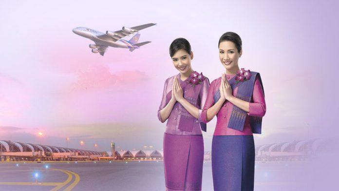 Thai Airways KM vé đi Thái Lan giá rẻ