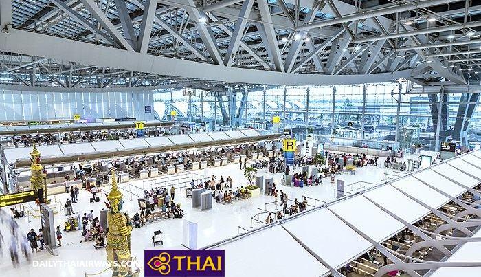 Sân bay quốc tế Suvarnabhumi đáp ứng được nhu cầu phục vụ hành khách cao