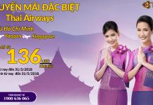 Chương trình khuyến mại của Thai Airways